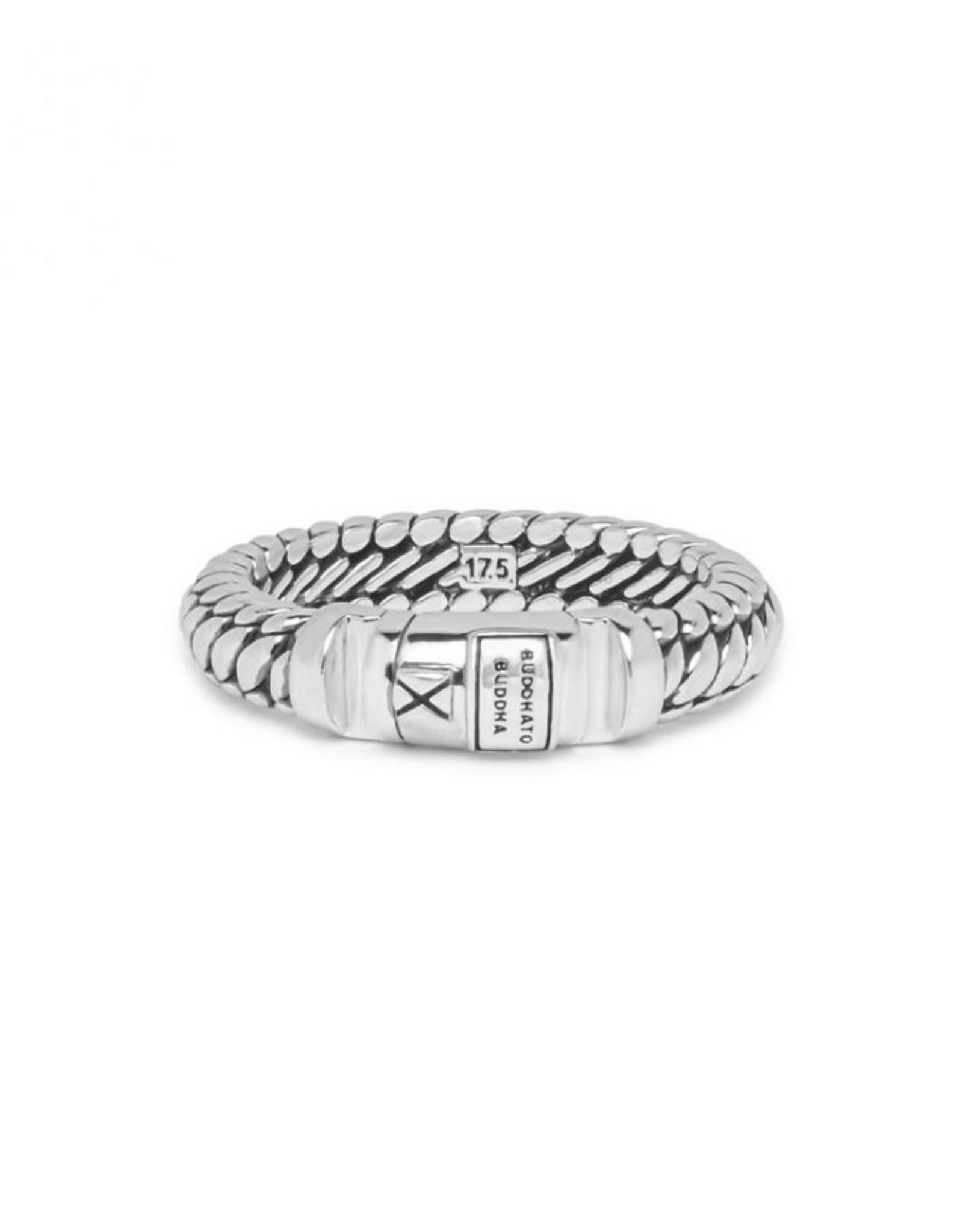 Buddha to Buddha 925 Sterling Zilveren 613 17 Ben Xs Lock Ring Silver 17