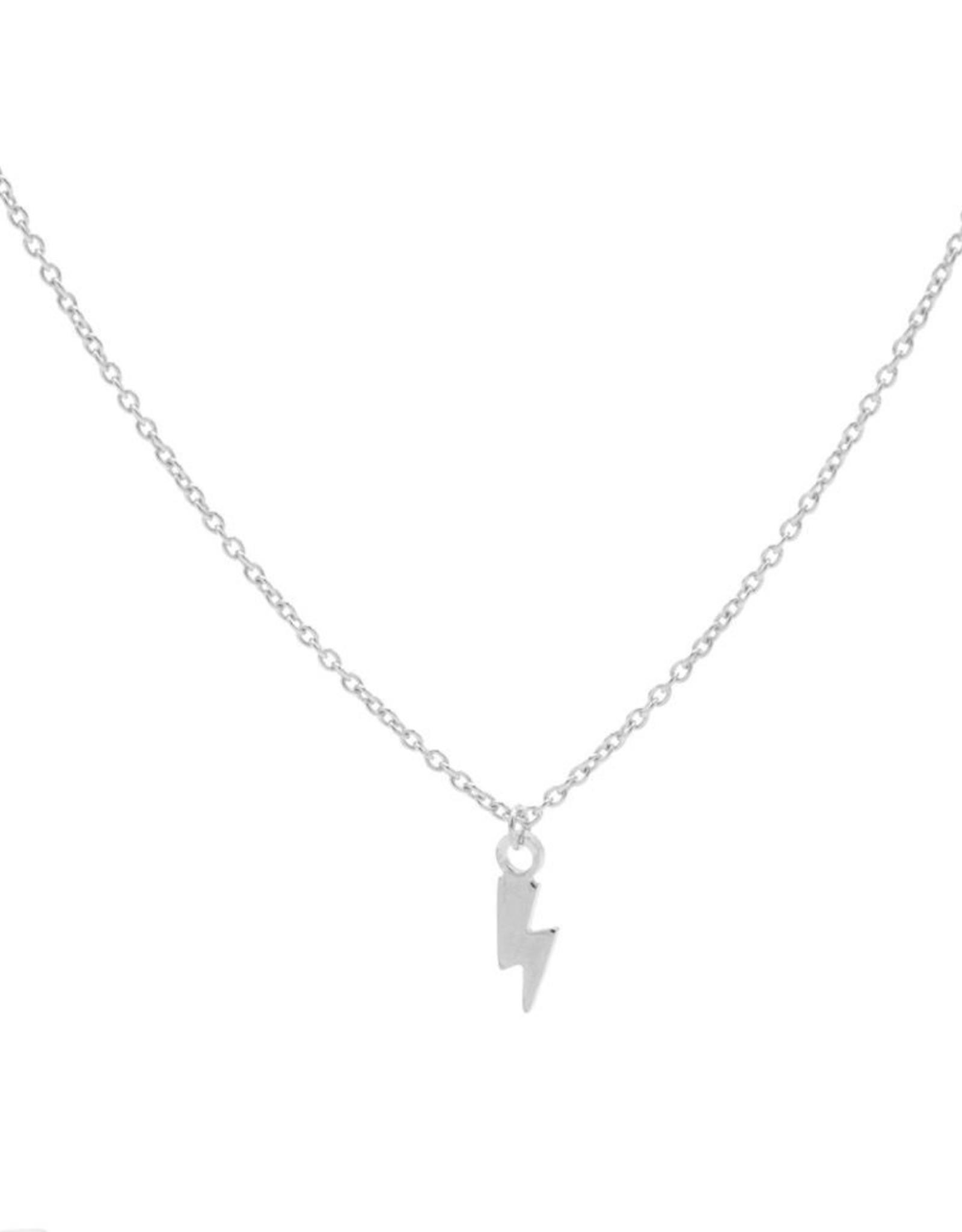 Karma Necklace Lightning Silver