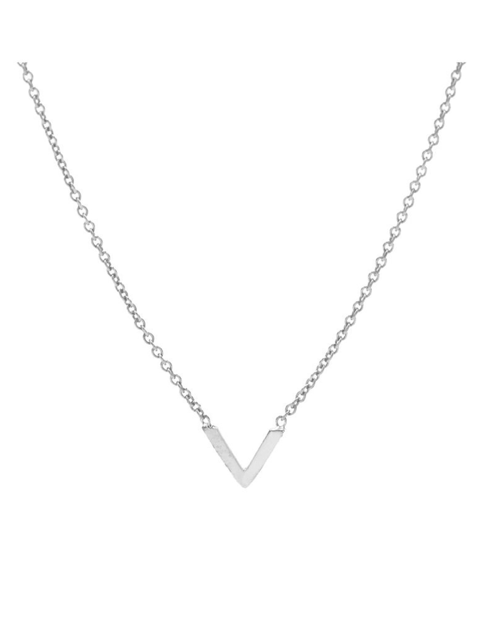 Karma Necklace V Silver