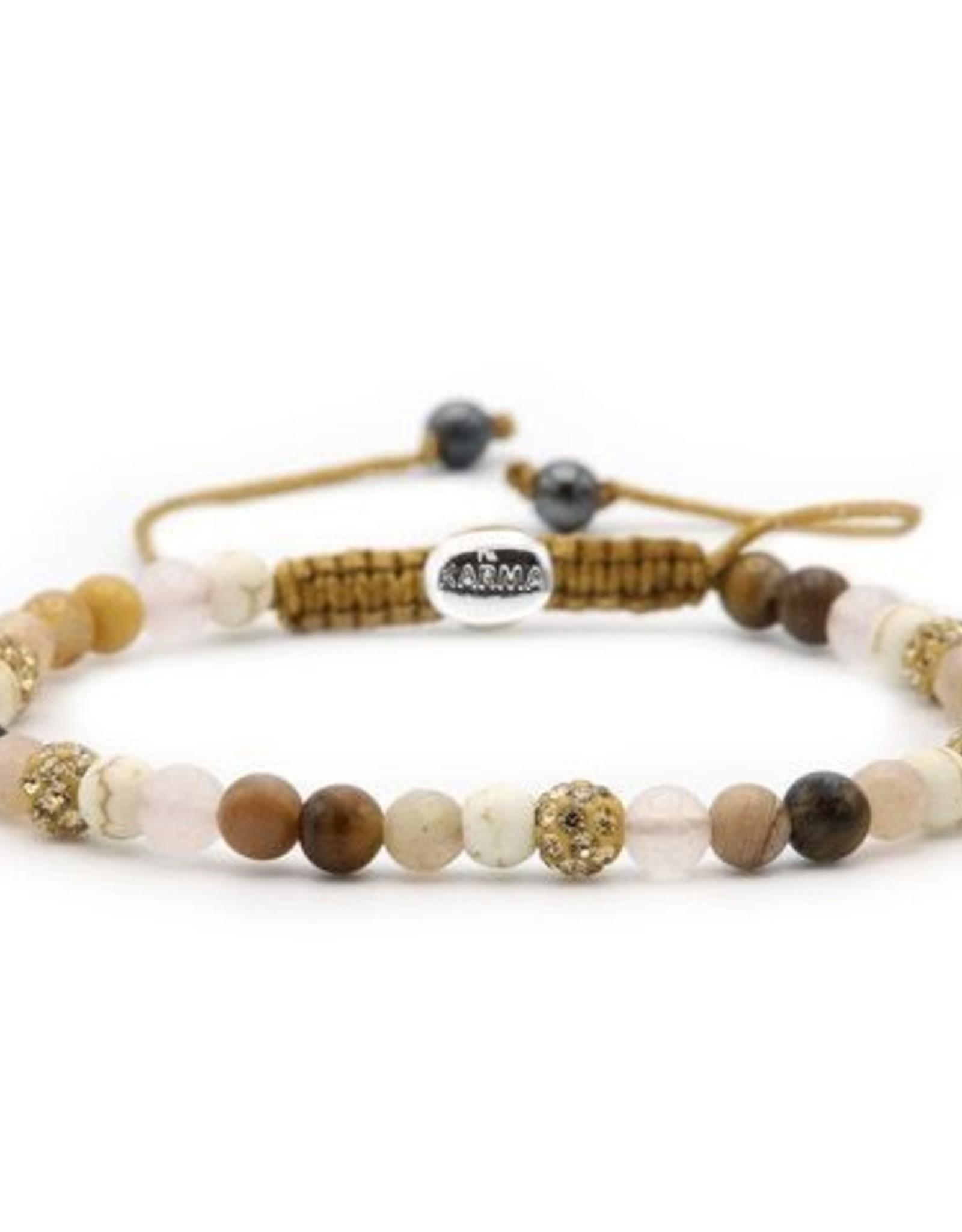 Karma Spiral Simply Brown xxs (gold crystal)