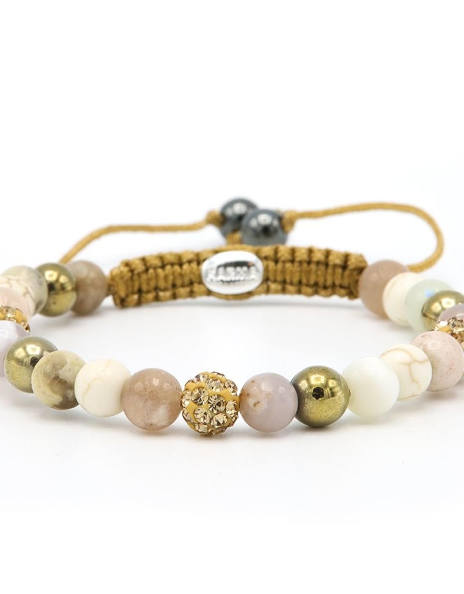 Karma Spiral Marble Desert xs (gold crystal)