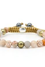 Karma Spiral Vieve (rose gold crystal)