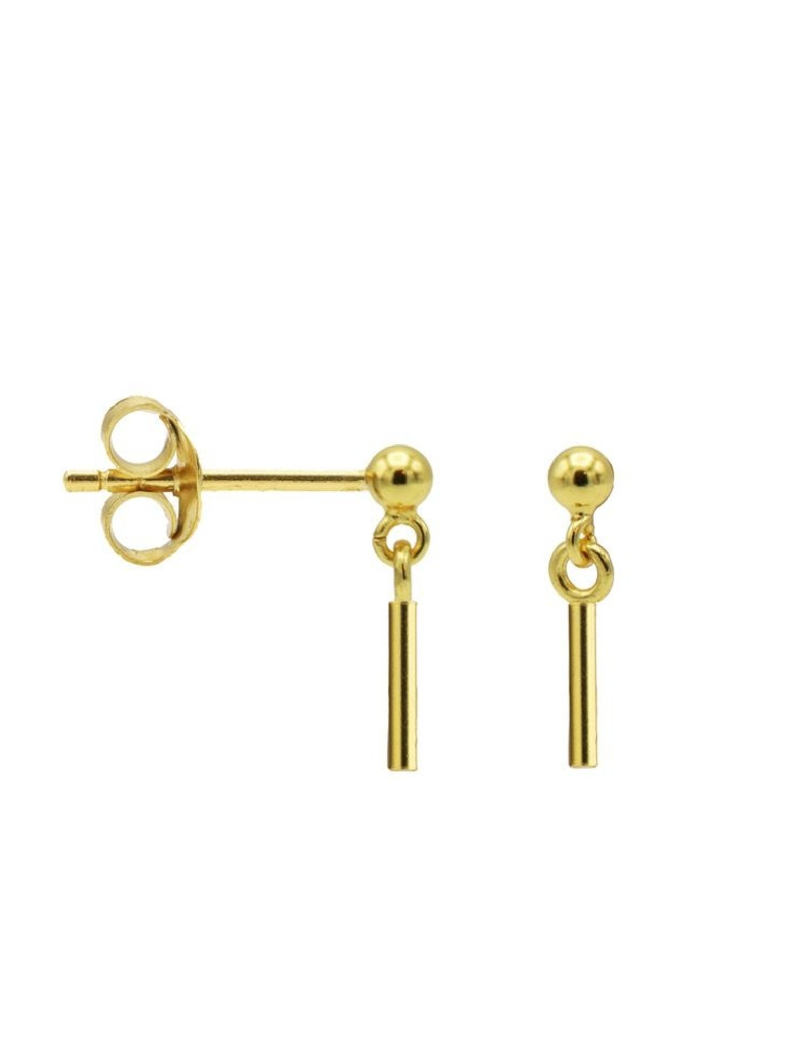 Karma Hanging Symbols Round Tube Goldplated Set