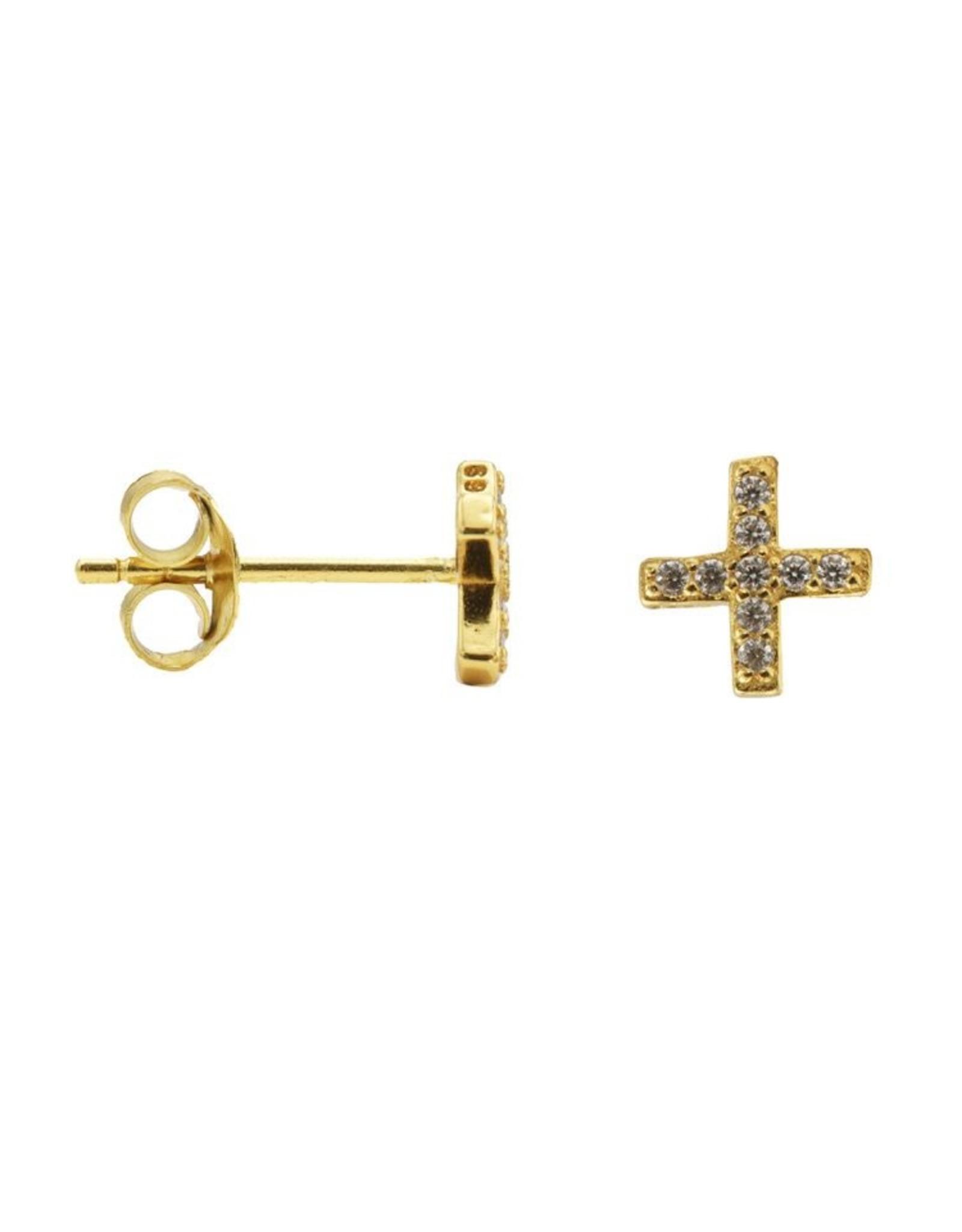 Karma Karma Zirconia Symbols Plus Goldplated Set