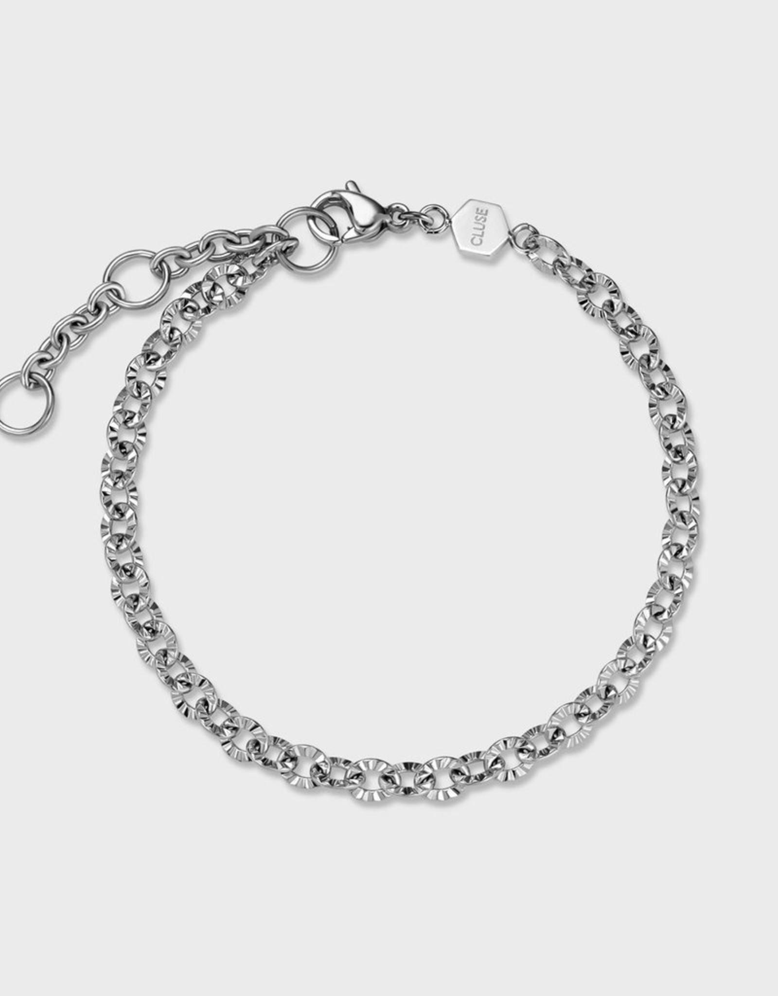 Cluse Essentielle Shiny Bracelet Silver Colour