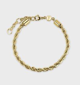 Cluse Essentielle Rope Bracelet Gold Colour