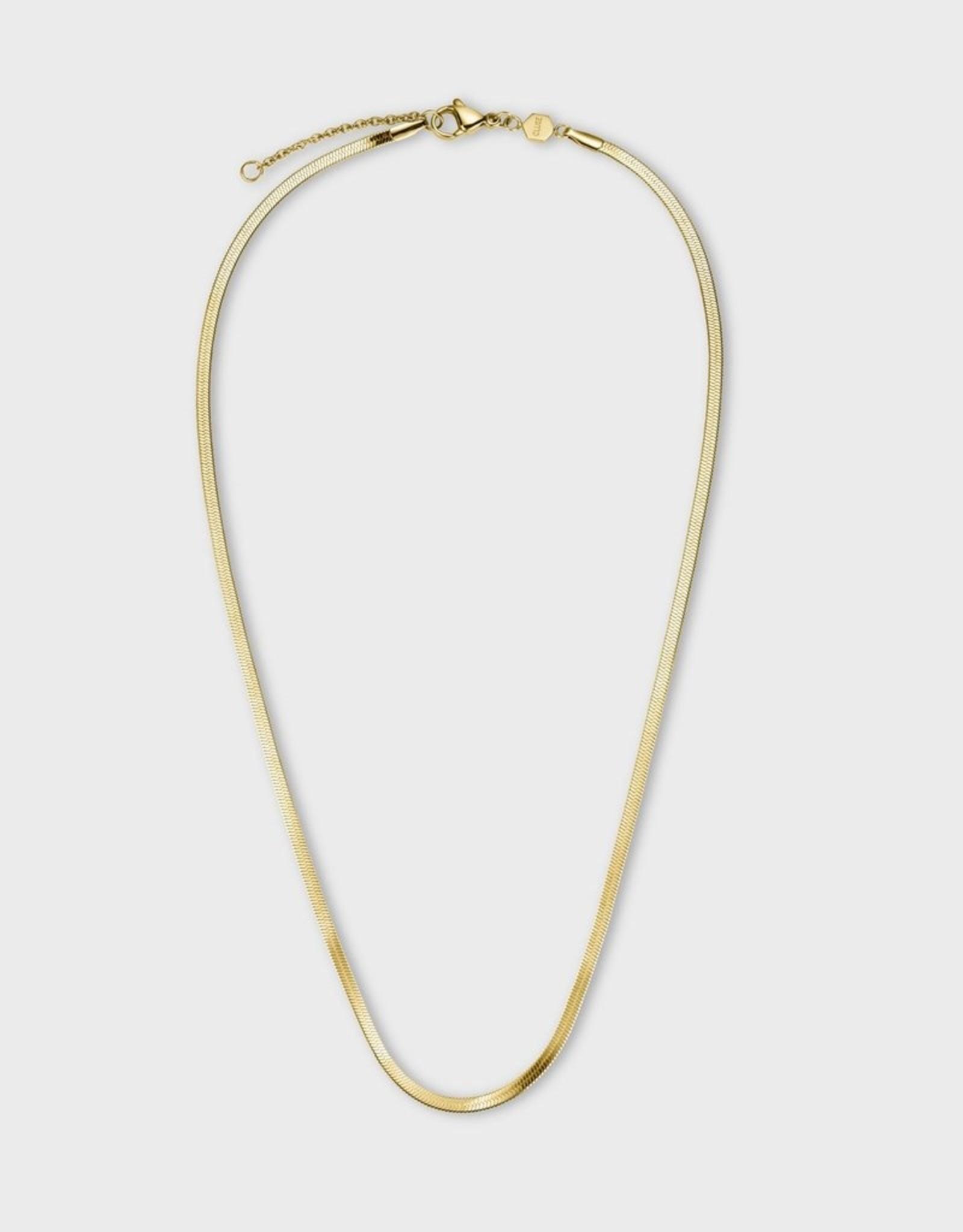 Cluse Essentielle Snake Necklace Gold Colour