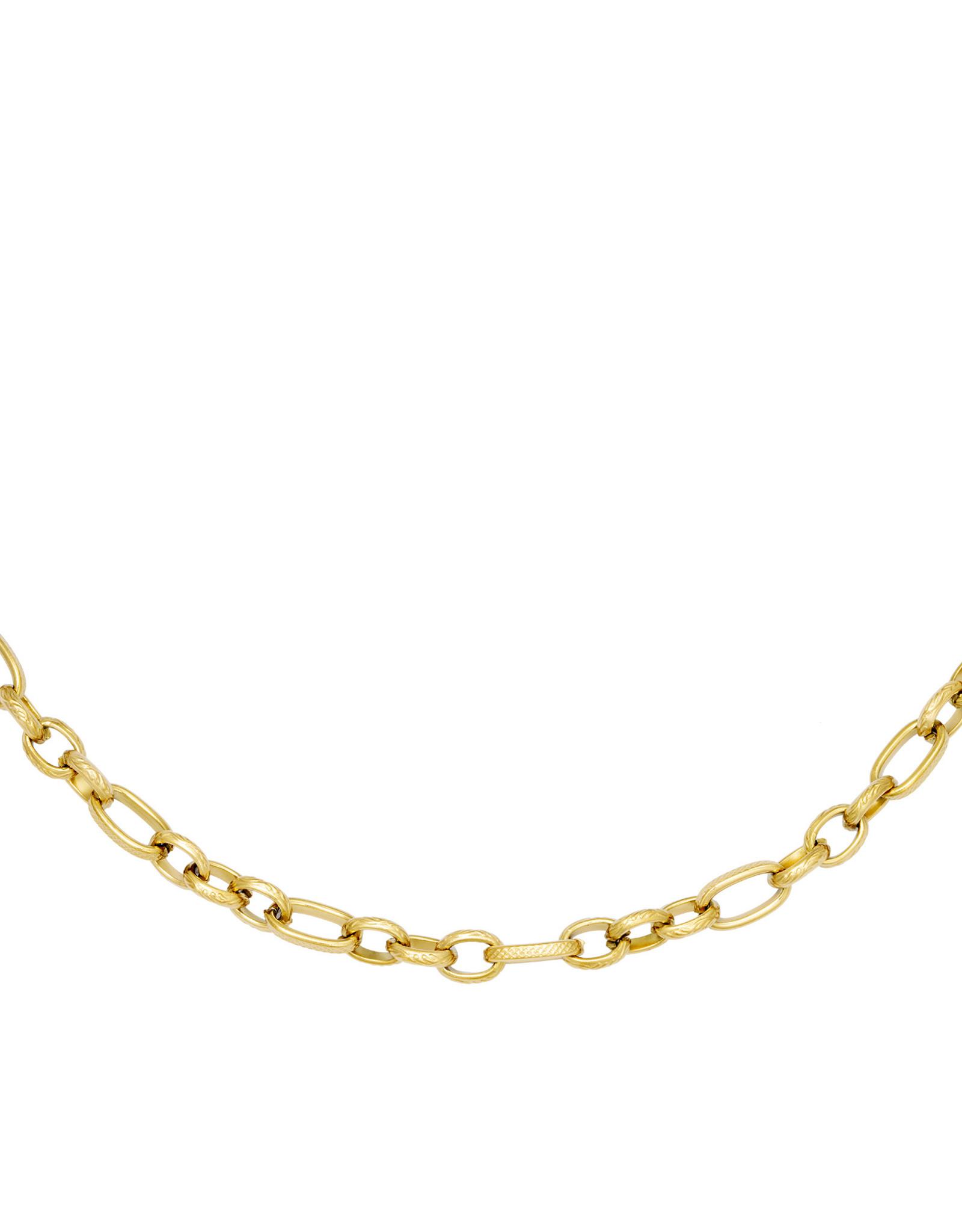 Necklace Interlink Gold