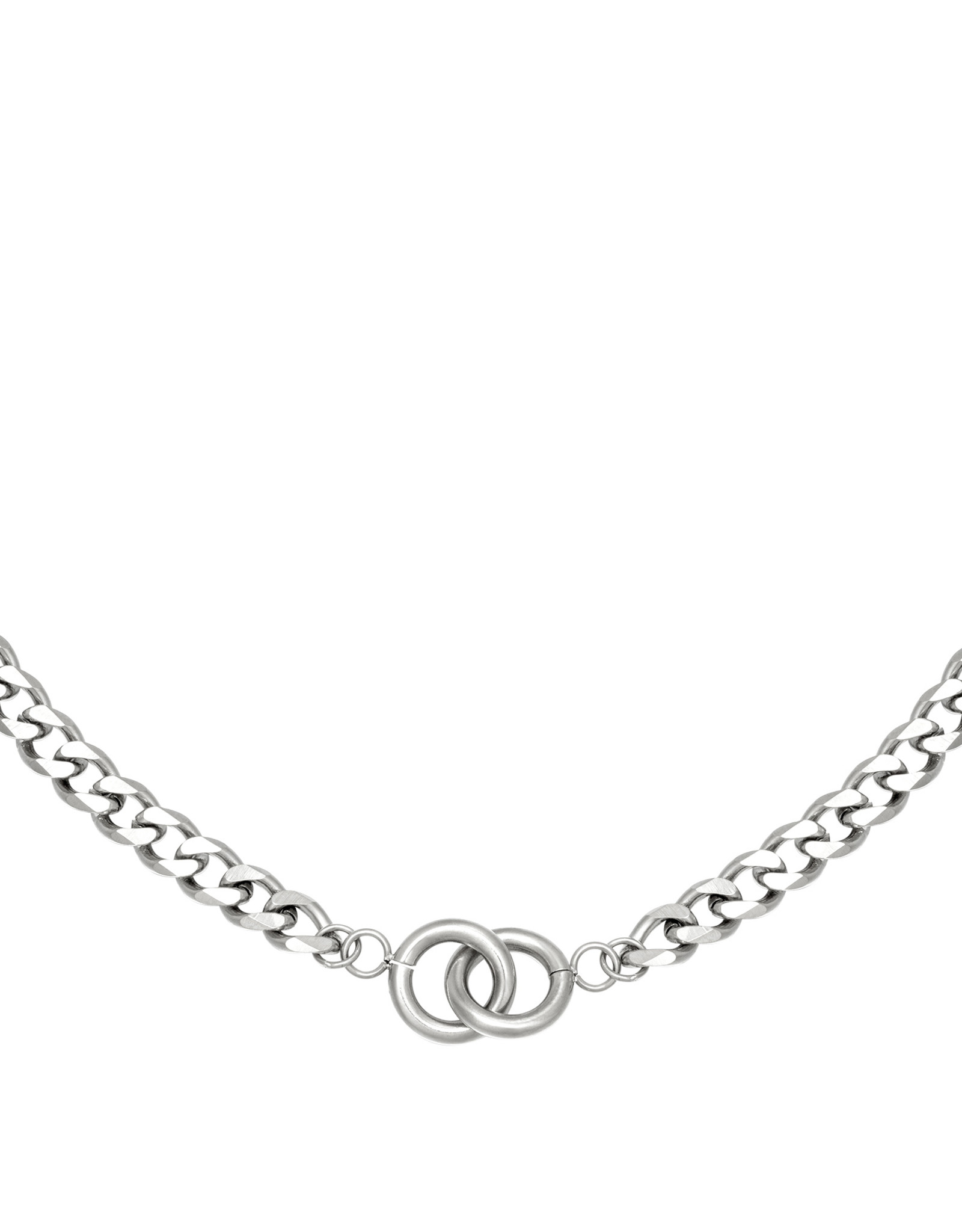 Necklace Intertwined Silver