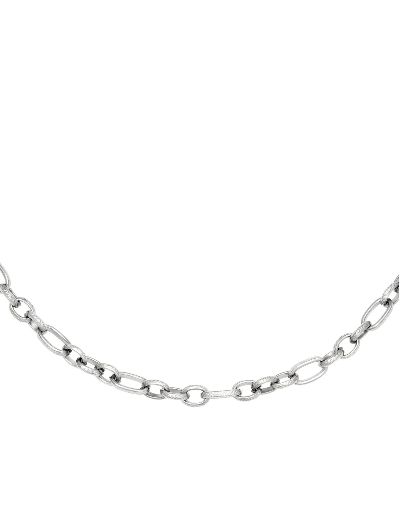 Necklace Interlink Silver