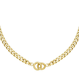 Necklace Intertwined Gold