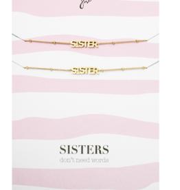 Bracelet Sisters Gold
