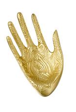 Decorative Jewelry Tray Hand Gold