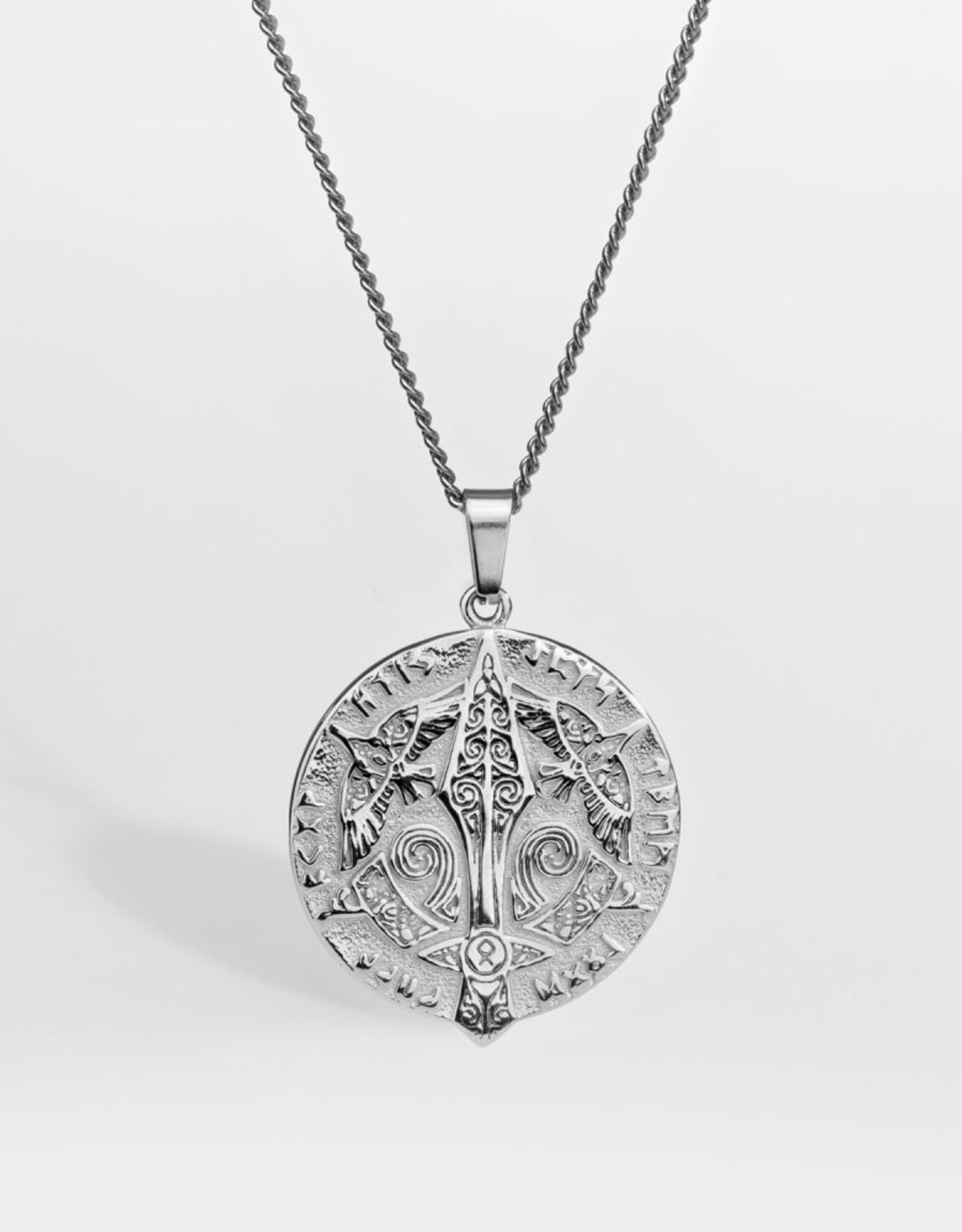 Northern Legacy NL Gungnir necklace- Silver Tone