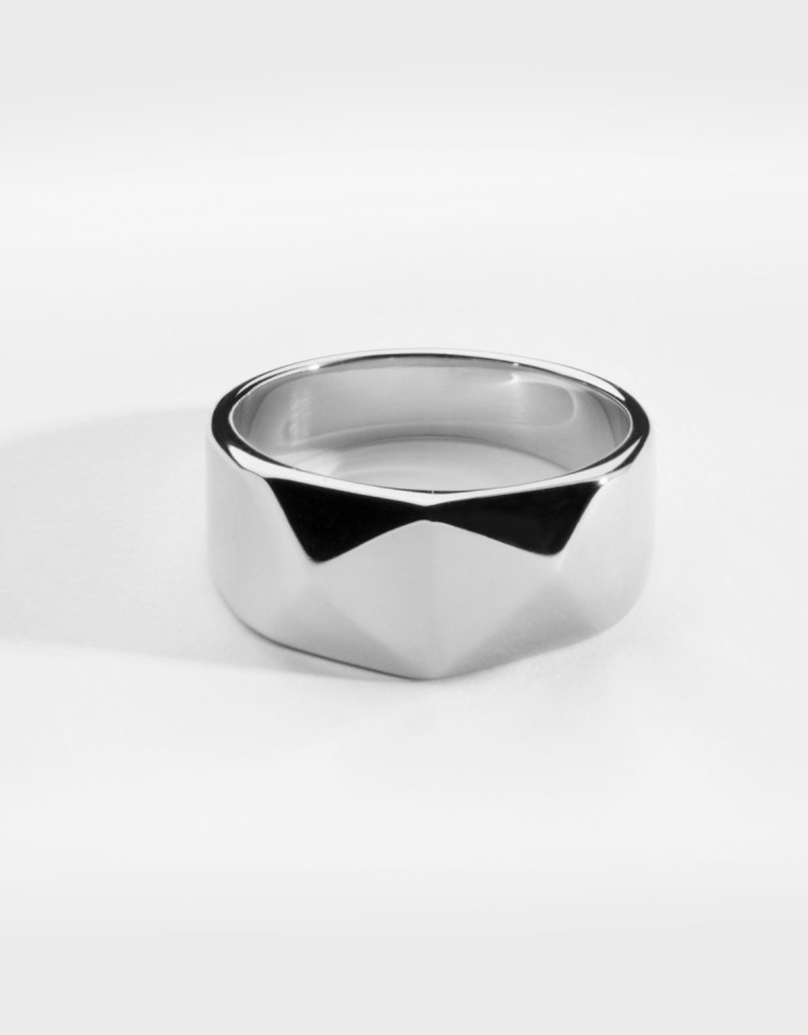 Northern Legacy Kant Signature ring- Silver Tone maat 19