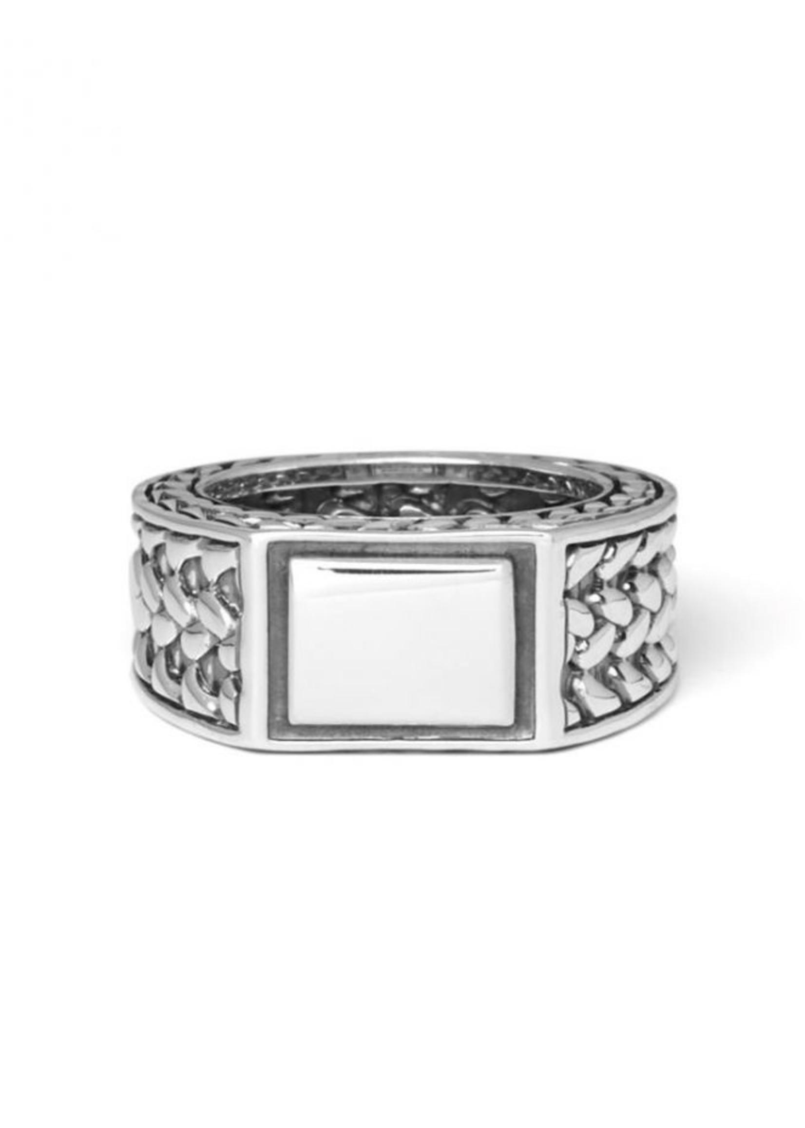 Buddha to Buddha 925 Sterling Zilveren 194 17 Julius Signet Ring