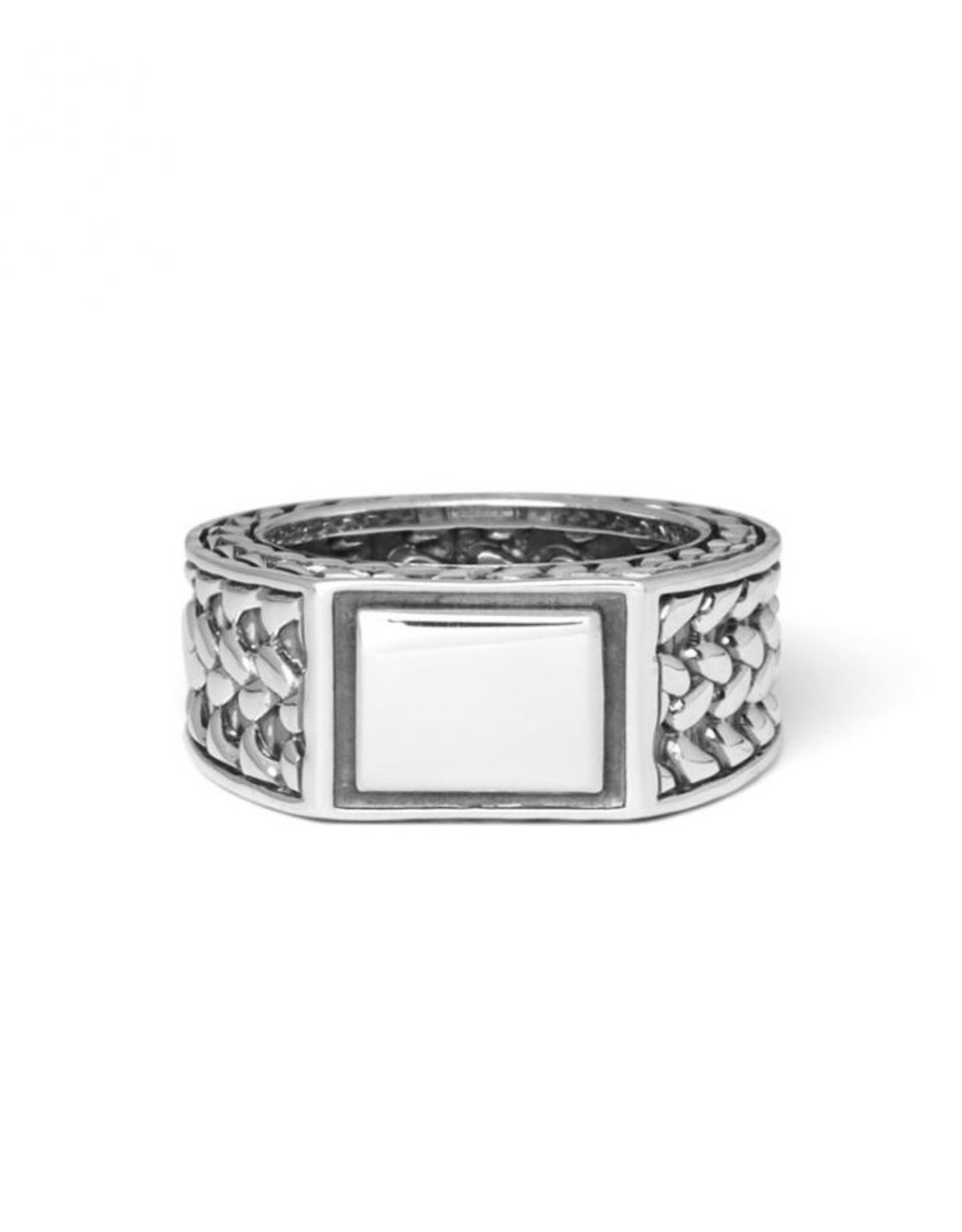 Buddha to Buddha 925 Sterling Zilveren 194 18 Julius Signet Ring