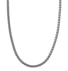 Croyez Chain wheat 5mm Silver 55cm