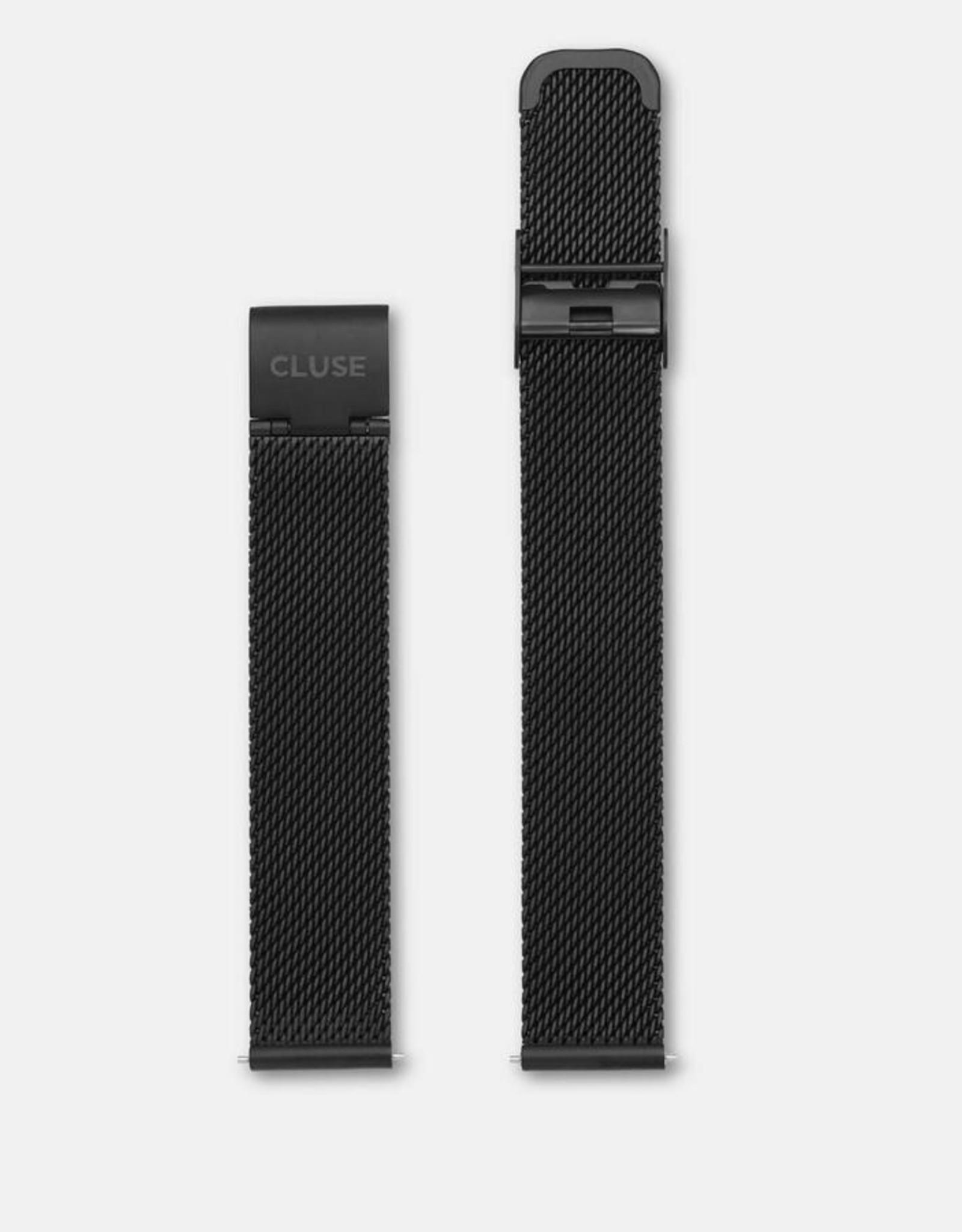 Cluse Strap 16 mm Mesh Black