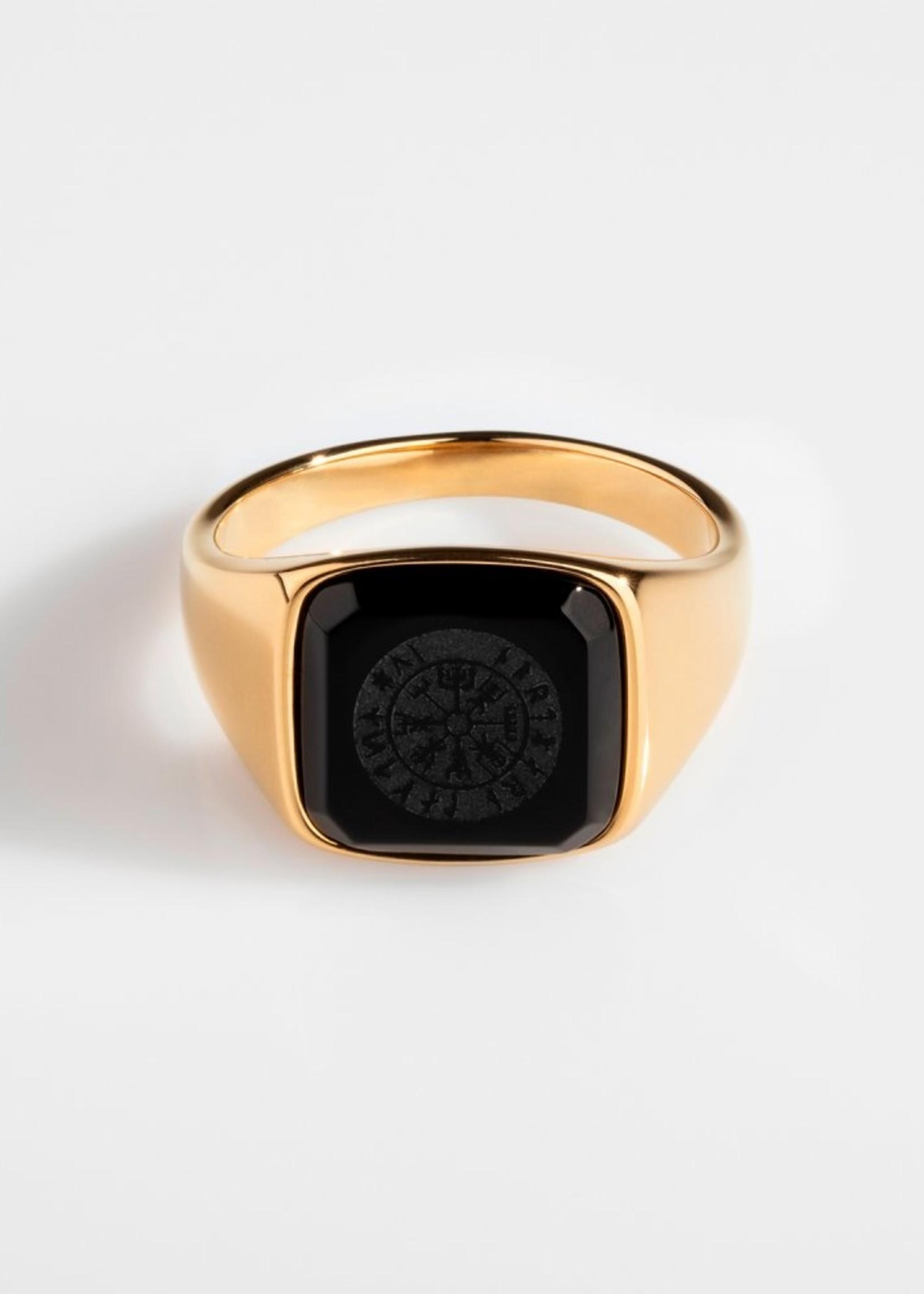 Northern Legacy Black Onyx Vegvisir Signature Gold 11