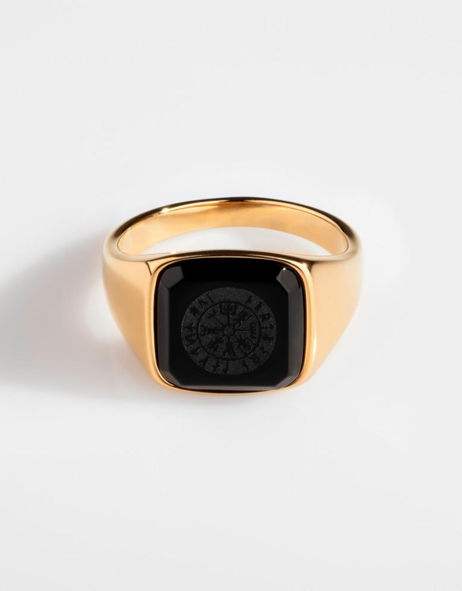Northern Legacy Black Onyx Vegvisir Signature Gold 10