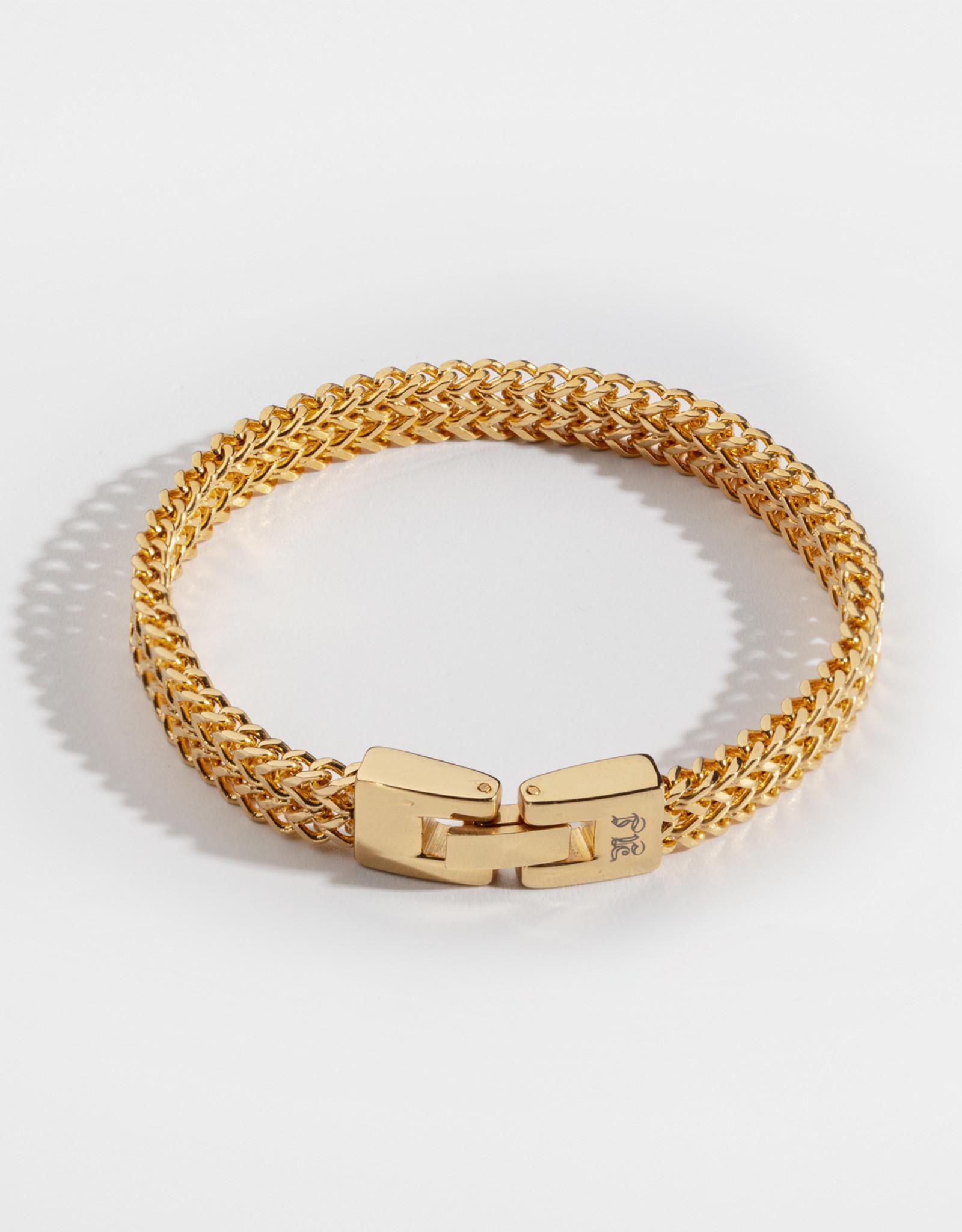 Northern Legacy NL Fehu Bracelet - Gold Tone S 19cm