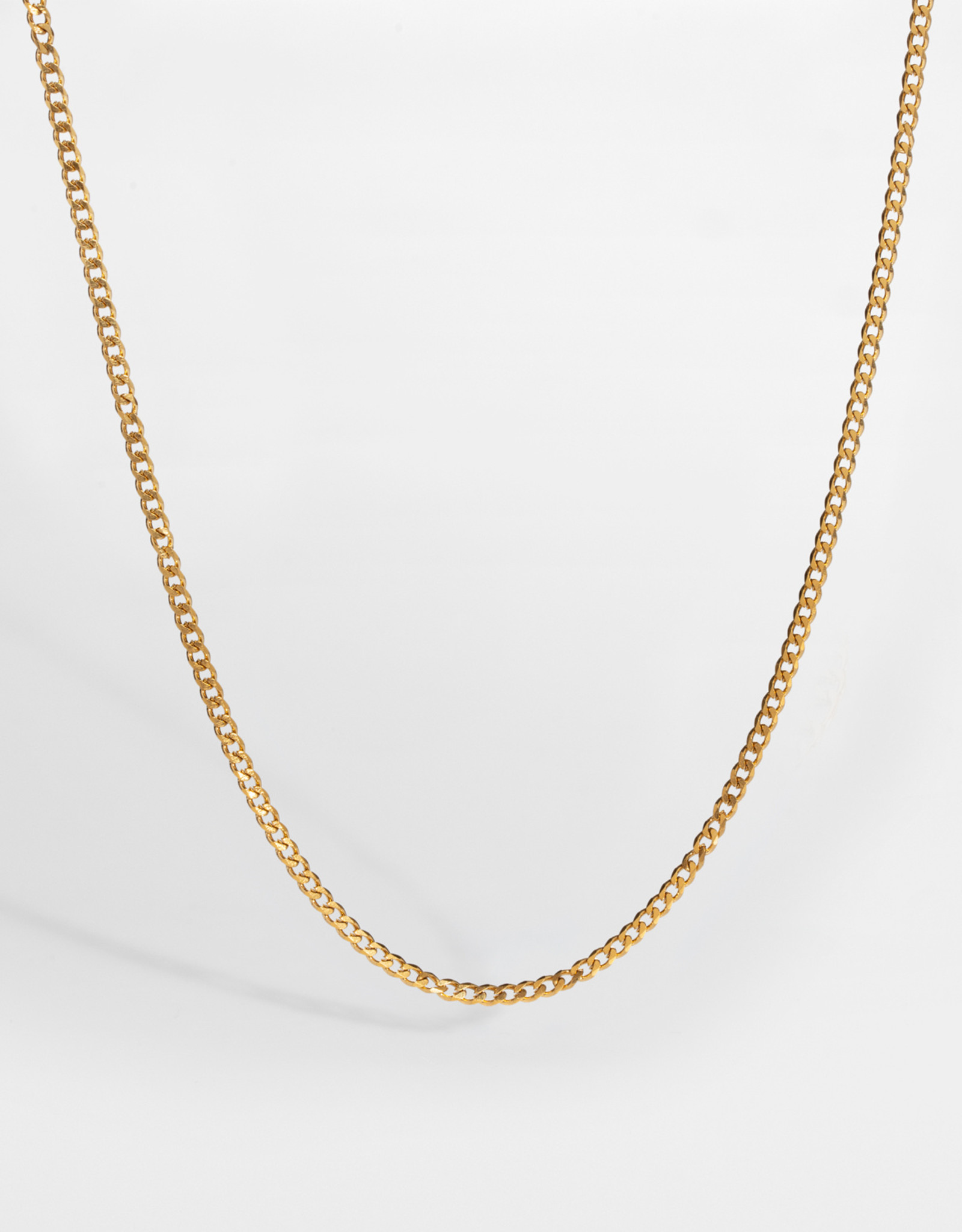 Northern Legacy Nl Minimal Sequence Necklace - Gold Tone