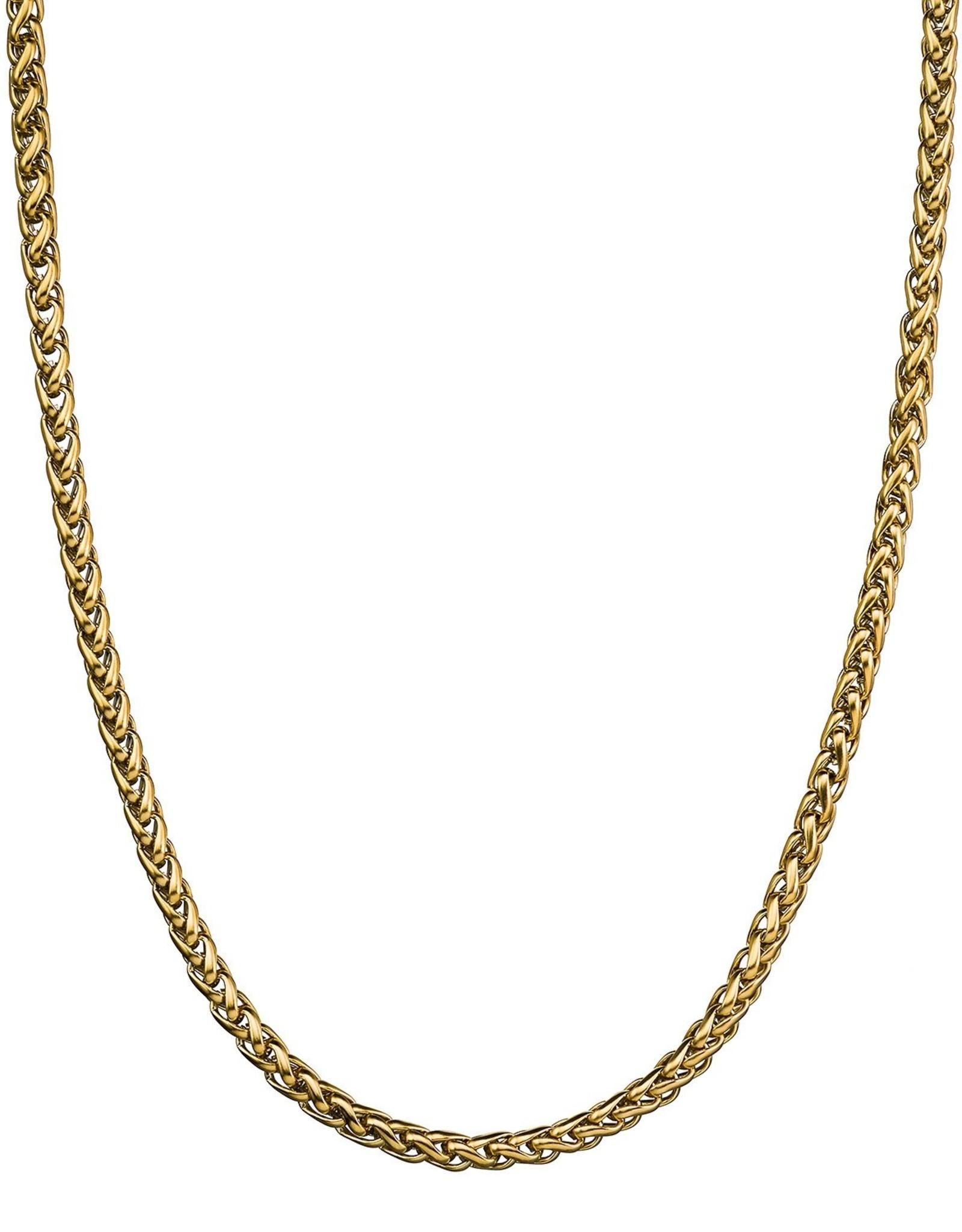 Croyez Chain wheat 5mm 14k gold 55cm