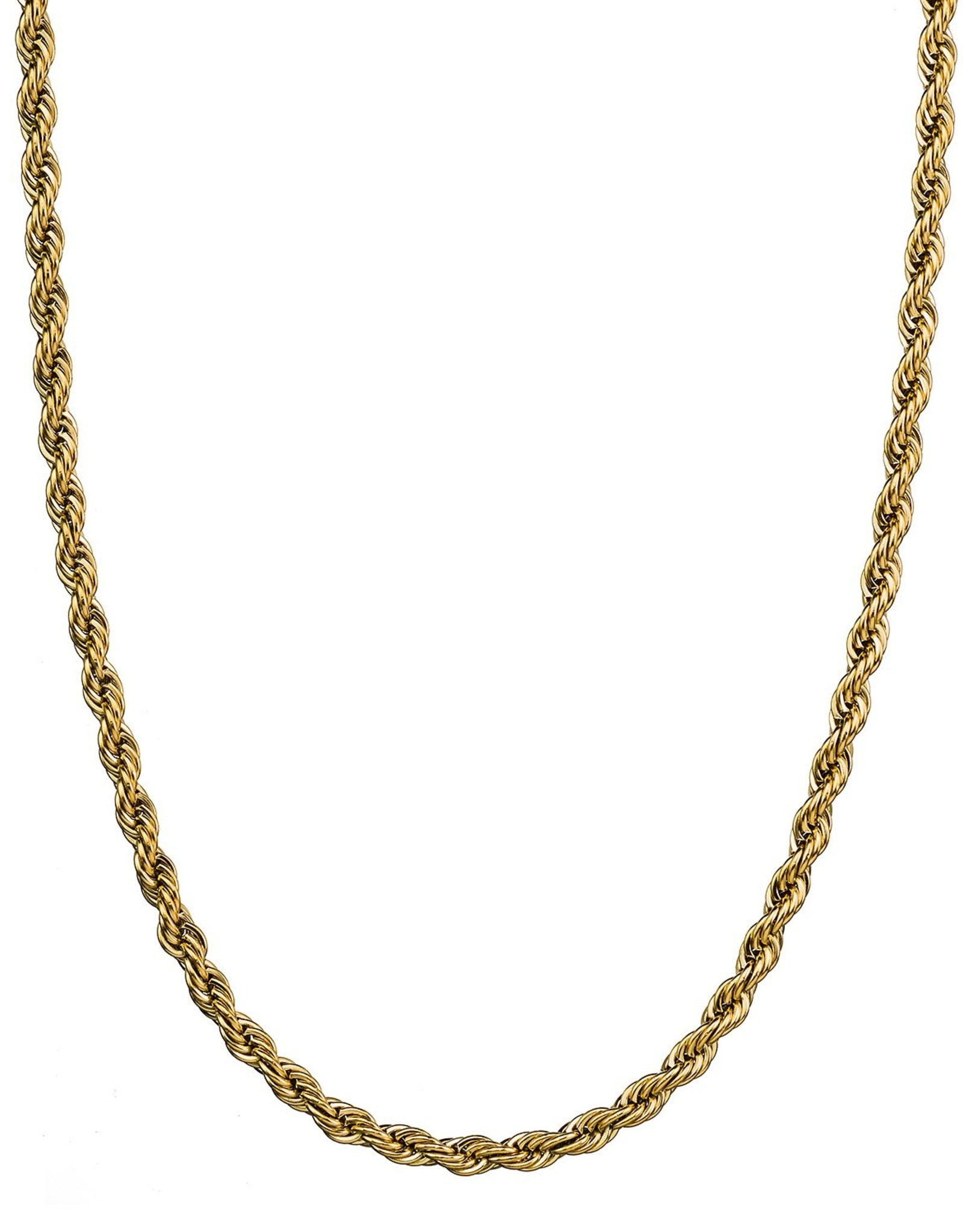Croyez Chain rope 5mm 14k gold 55cm
