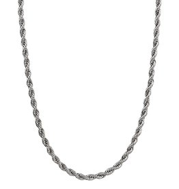 Croyez Chain rope 5mm Silver 52cm