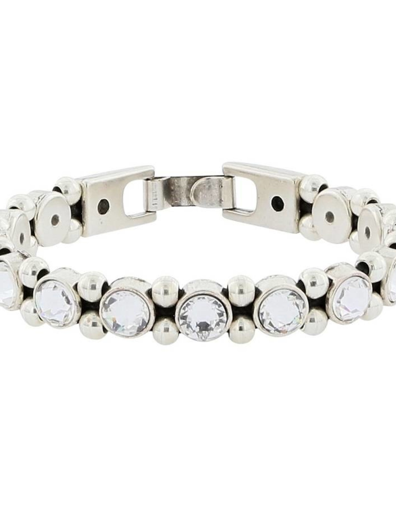 Josh Armband Dames 046164-bra s/crystals/s
