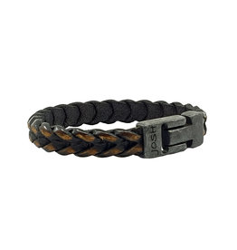 Josh Armband Heren Vintage Black 24940-bra vb/brown/l-1
