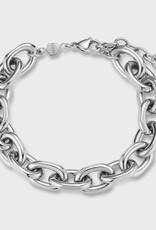 Cluse Essentielle Chunky Chain Bracelet Silver Colour