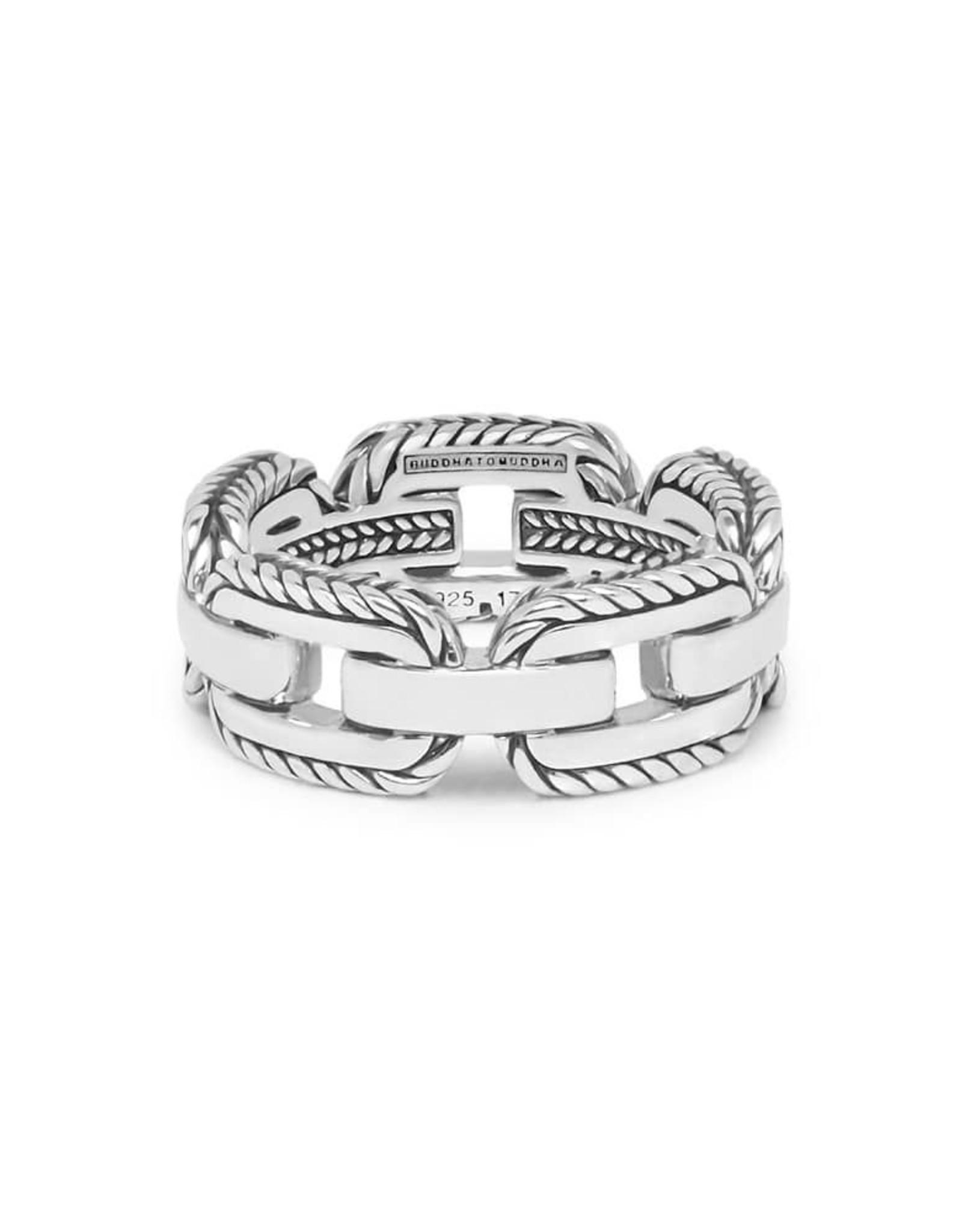Buddha to Buddha Buddha to Buddha 925 sterling zilveren 118 Barbara Link Ring 20