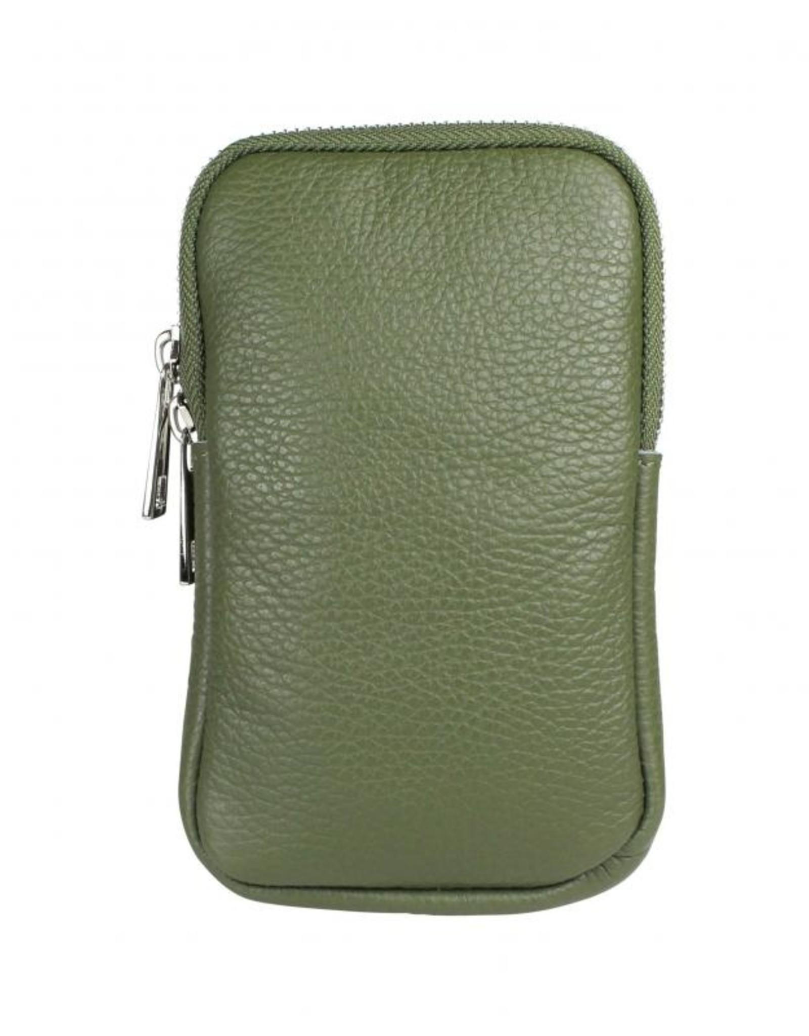 Call Me Up Leather - Groen (zilver)