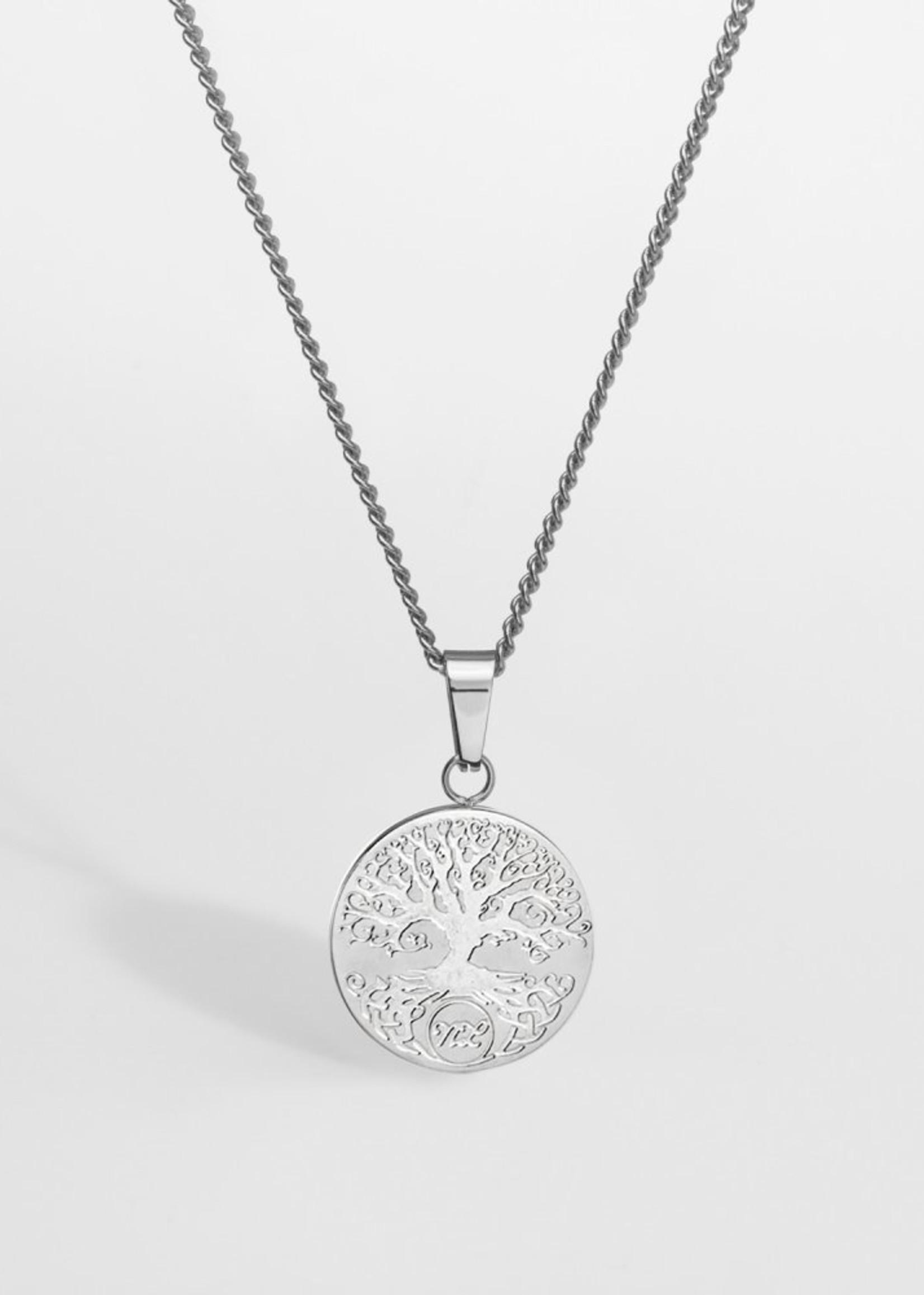 Northern Legacy Nl Yggdrasil pendant - Silver Tone