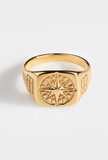Northern Legacy Compass Signature- Gold Tone Maat 18
