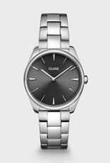 Cluse Féroce Petite Dark Grey Steel, Silver Colour