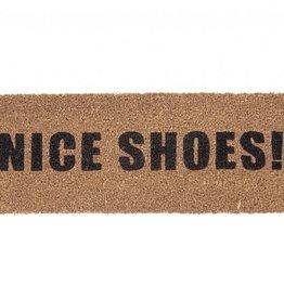 Door Mat Nice Shoes