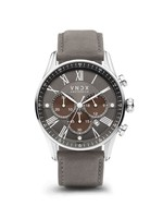 VNDX The Boss Two-Tone Leather Grey