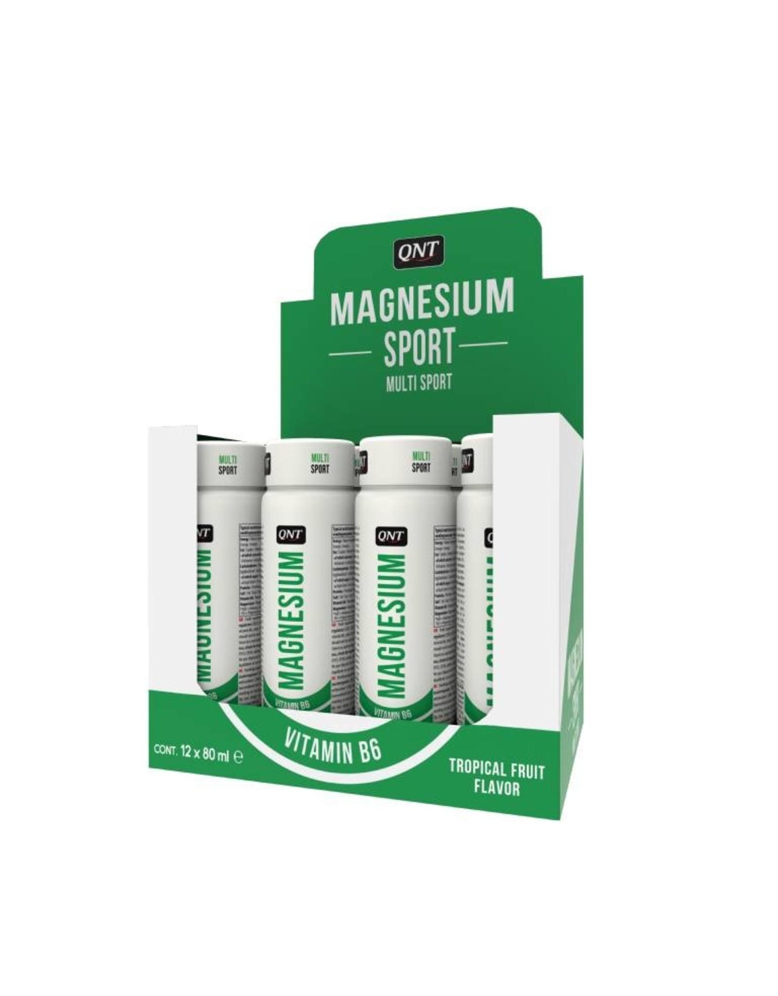 QNT Magnesium shot - 12 x 80 ml