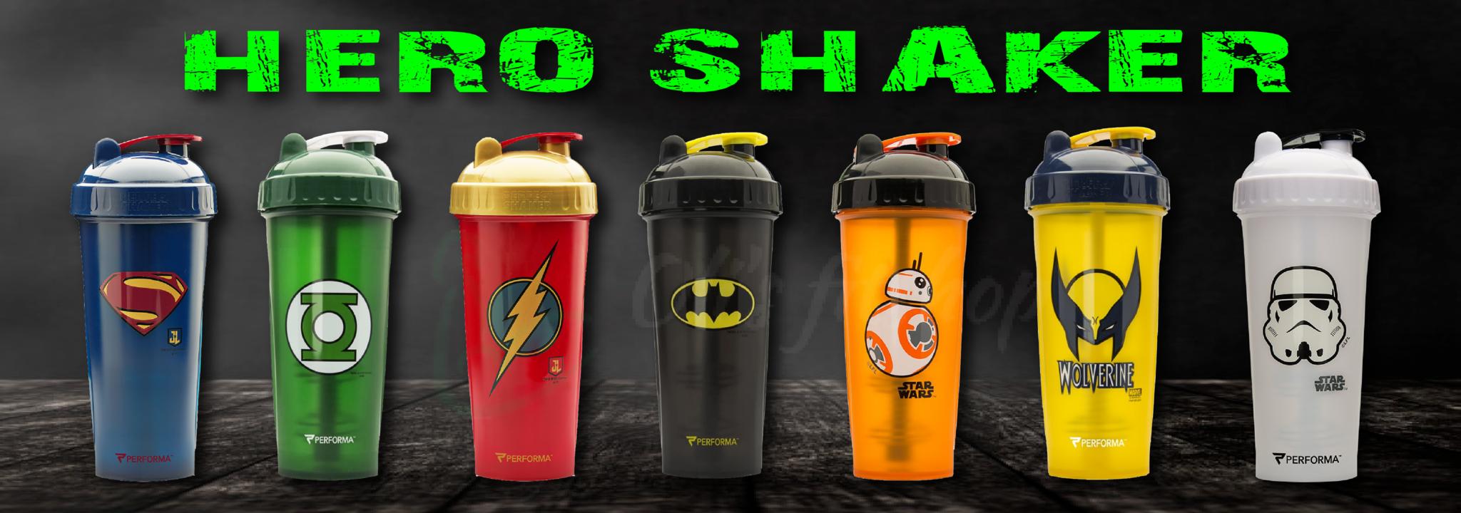 Hero shakers