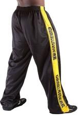 Gorilla Wear Track Pants - Black/Yellow