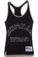 Gorilla Wear Logo Stringer Tank Top - Black