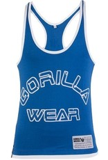 Gorilla Wear Logo Stringer Tank Top - Blue
