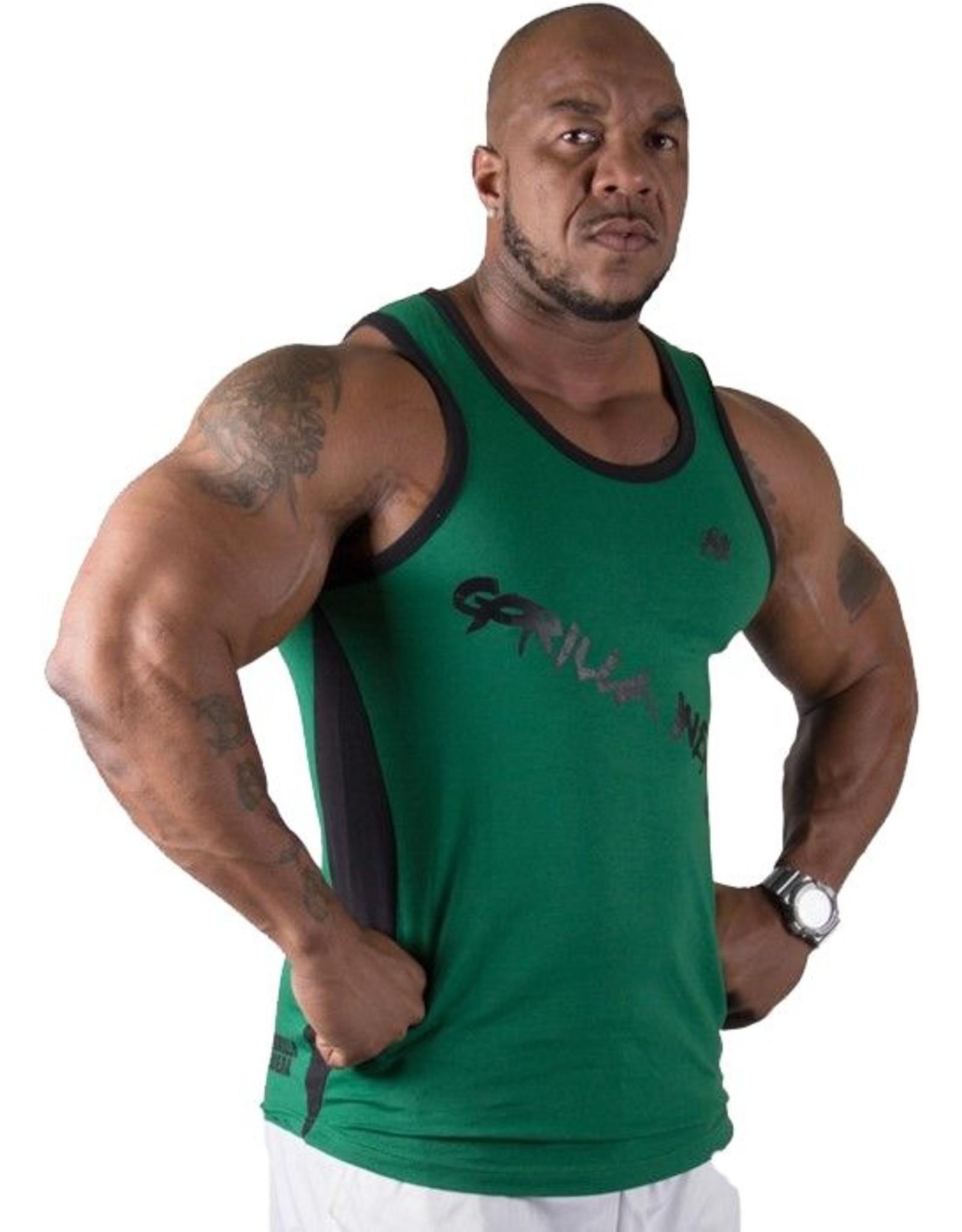 Gorilla Wear Stretch Tank Top - Green