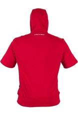 Gorilla Wear Short Sleeve Hoodie - Red
