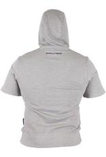 Gorilla Wear Short Sleeve Hoodie - Grey