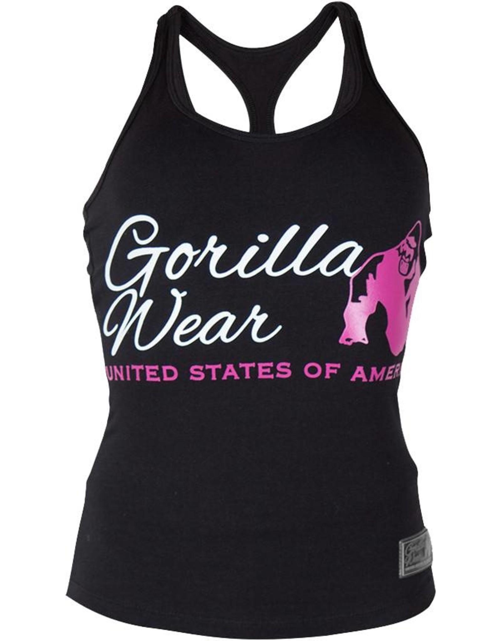Gorilla Wear Ladies Classic Tank Top - Black