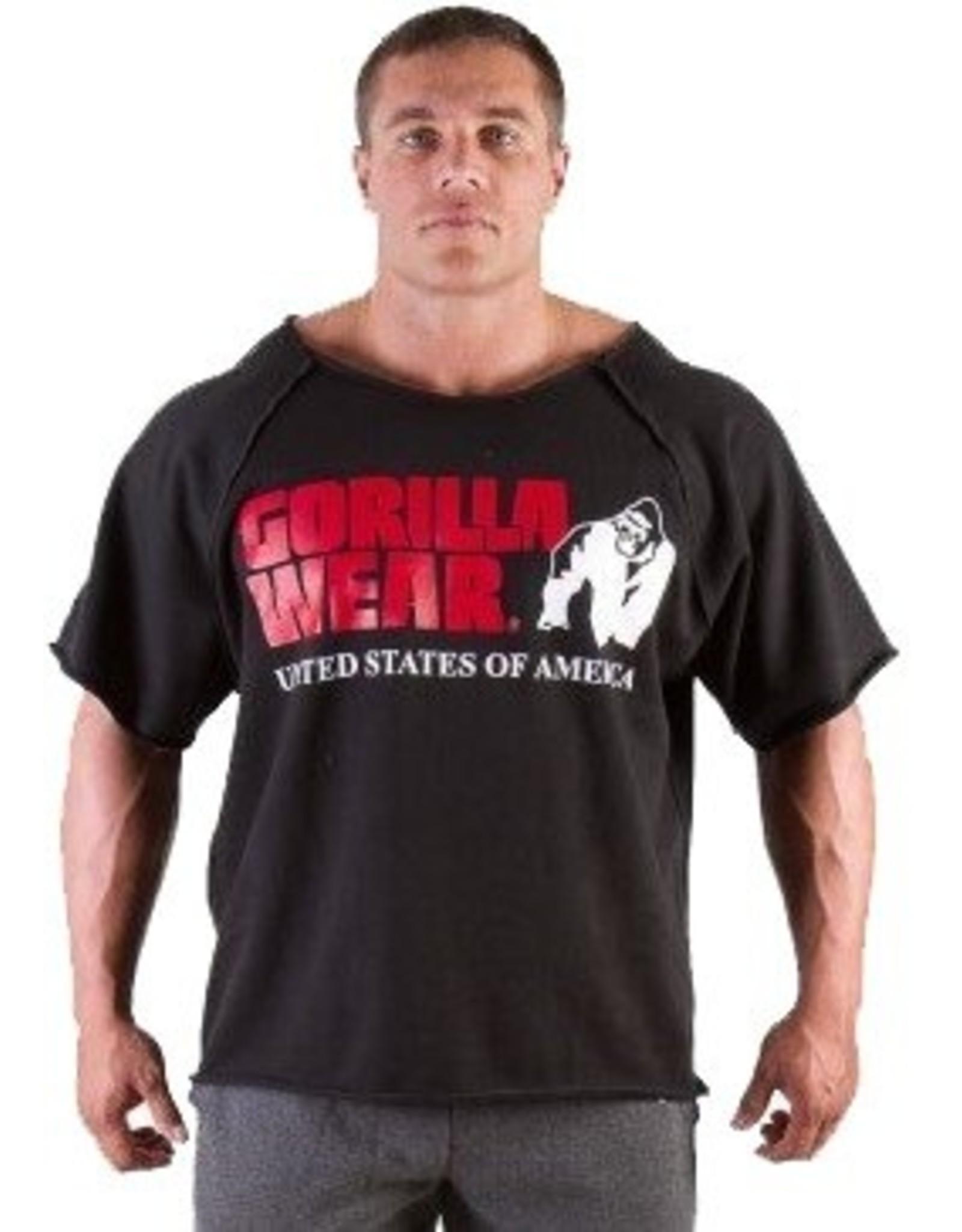 Gorilla Wear Classic Workout Top - Black